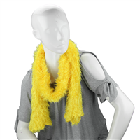 Unique Fashionable Lightweight Timeless Multi-Wear Solid Yellow Magic Scarf