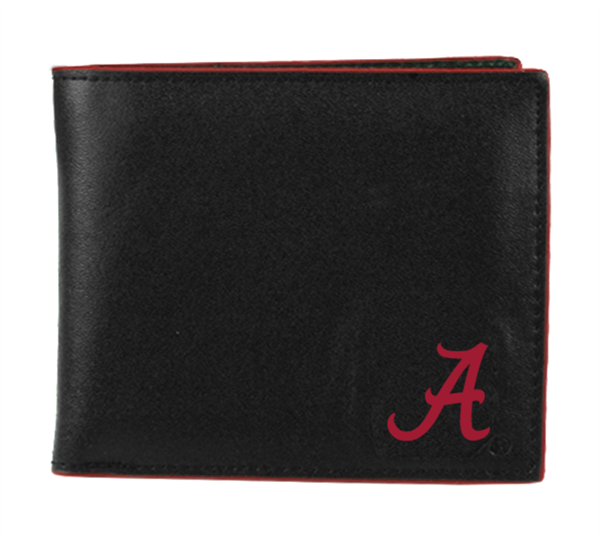 Men's Bi-fold Wallet Alabama Collegiate Billfold