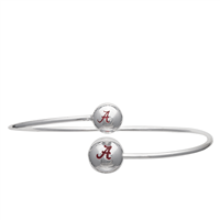 College Fashion University of Alabama Logo Ball Kuiper Belt Cuff Bangle Bracelet