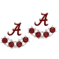 Alabama earring | 2 separate pieces to wear front and back