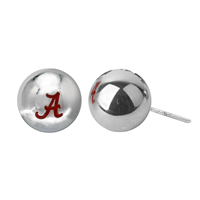 College Fashion University of Alabama Logo Ball Star Stud Earrings