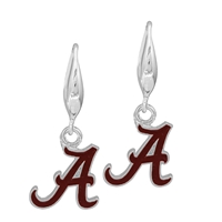 College Fashion University of Alabama Logo Charm Stud Dangle Elma Earrings