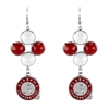 Alabama Crimson Tide Bubble Earrings
