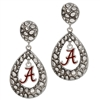 Alabama Tear Drop Silver ER Elise