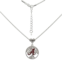 College Fashion University of Alabama Logo Charm Neela Necklace