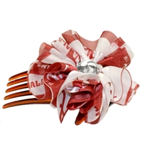 Hair Comb Accessory Alabama Crimson Tide