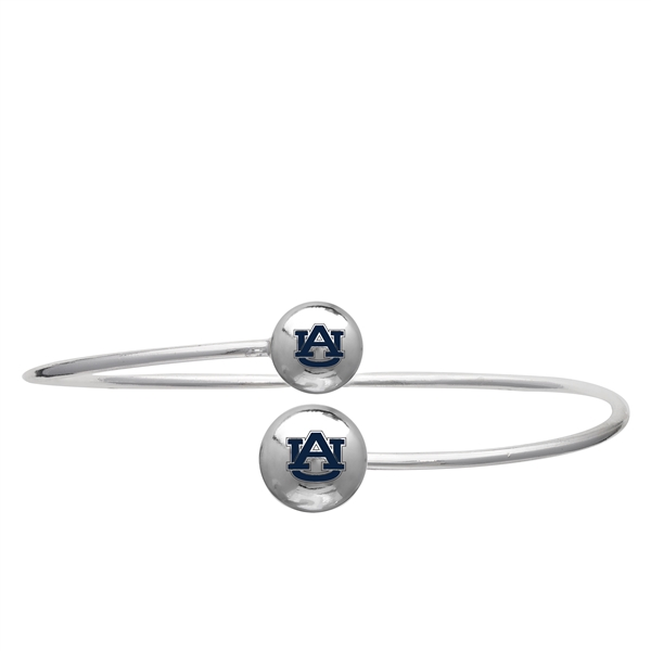 College Fashion Auburn University Logo Ball Kuiper Belt Cuff Bangle Bracelet