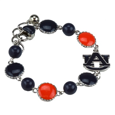 Ornate Beaded Bracelet Auburn