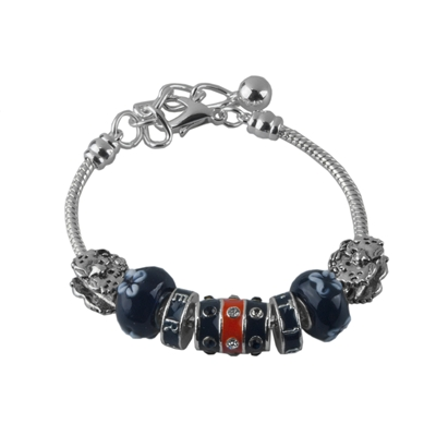 Auburn Aubie The Tiger Bead Bracelet Jewelry Mascot