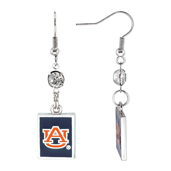 Square Dangle Earrings | Auburn Tigers