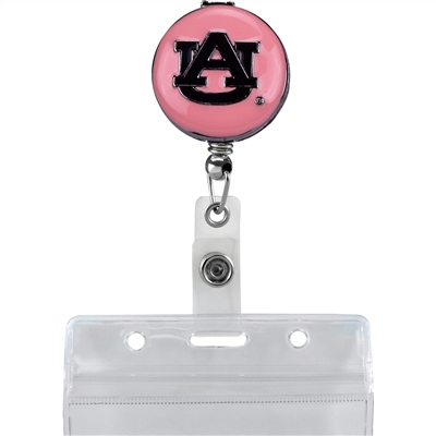 College Fashion Auburn University Retractable ID Lulu Lanyard Badge Reel