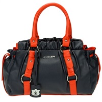 The Embellish Handbag Shoulder Bag Purse Auburn