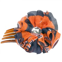 Hair Comb Accessory Auburn Tigers
