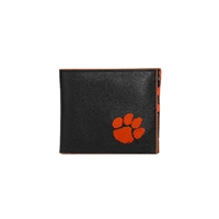 CLEMSON 6607 | Leather Bi Fold Men's Wallet