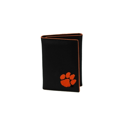CLEMSON 6608 | Leather Tri Fold Men's Wallet