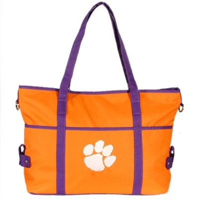 The Jamie Handbag Shoulder Bag Tote Clemson Tigers