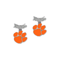 Clemson University Evie Earrings