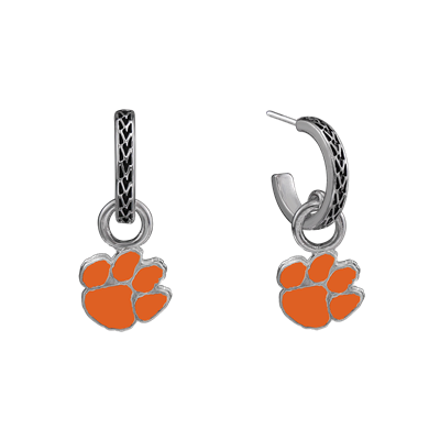 CLEMSON 4034 | LOGO CHARM EARRINGS