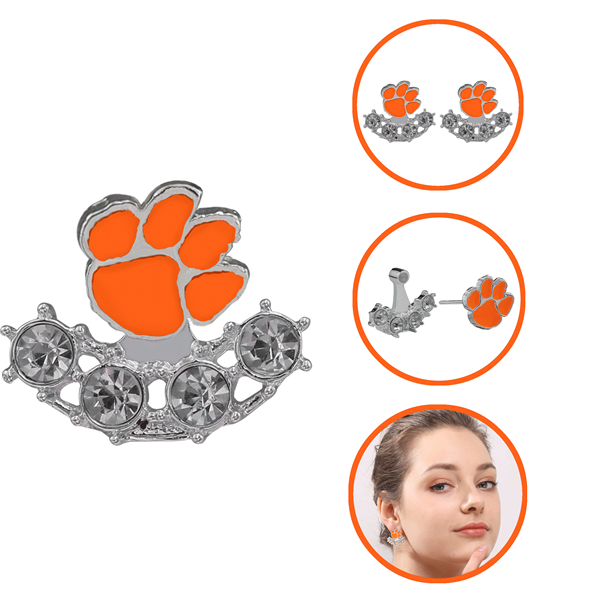 CLEMSON 4042 | 3D EARRINGS