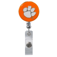 College Fashion Clemson University Retractable ID Larry Lanyard Badge Reel