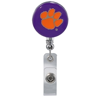 College Fashion Clemson University Retractable ID Lindy Lanyard Badge Reel