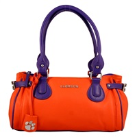 The Baywood Handbag Purse Clemson Tigers