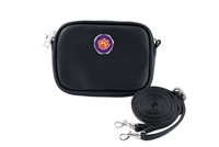 CLEMSON 6895 | LEATHER CROSSBODY STADIUM COMPLIANT