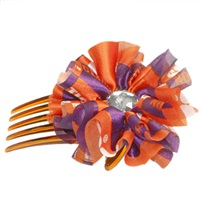 Hair Comb Accessory Clemson Tigers