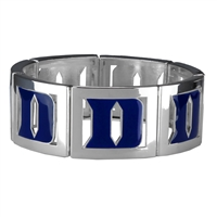 Square Stretch Blue Devils Silver Jewelry