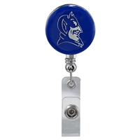 Royal Blue Duke University Identification Holder Badge Clip