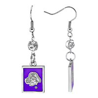 ECU Square Dangle Earrings