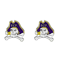 ECU Pirates Logo Earrings Jewelry