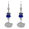 Beaded Dangle Earrings Florida Rowdy Reptiles