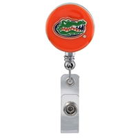 College Fashion University of Florida Retractable ID Lindy Lanyard Badge Reel