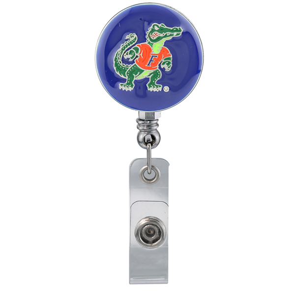 College Fashion University of Florida Retractable ID Looney Lanyard Badge Reel
