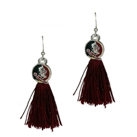 Tassel Charm Earrings Florida State University