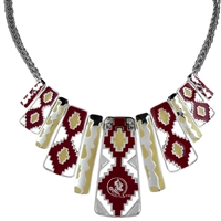 FLORIDA STATE 675 | Aztec Print Necklace Nova