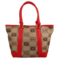 The International Handbag Shoulder Tote Bag Purse Georgia Bulldogs