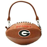 Football Purse Georgia Bulldogs