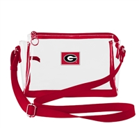 GEORGIA SMALL CLEAR HANDBAG