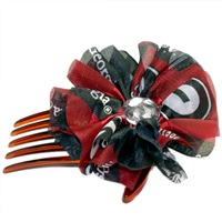 Hair Comb Accessory Georgia Bulldogs