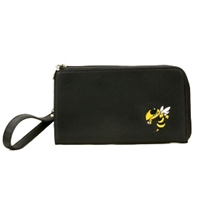 Georgia Tech Wristlet Clutch Wrist Bag Yellow Jackets