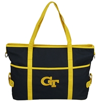 The Jamie Handbag Shoulder Bag Tote Georgia Tech Yellow Jackets