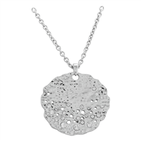 Sand Dollar Diamond Necklace