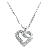 Ice Heart Necklace