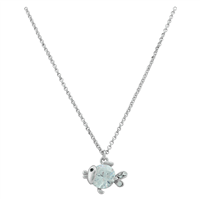 Fish Diamond Necklace