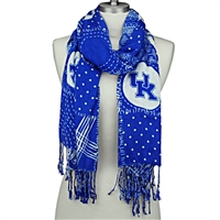 Mixed Print Scarf | Kentucky