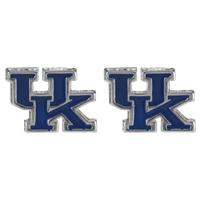 University of Kentucky UK Wildcats Mascot Logo Earrings Jewelry
