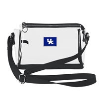 KENTUCKY SMALL CLEAR HANDBAG