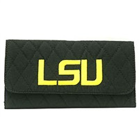 Quilted Wallet | Louisiana State